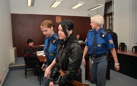 Veronika S. včera poprvé před soudem promluvila.