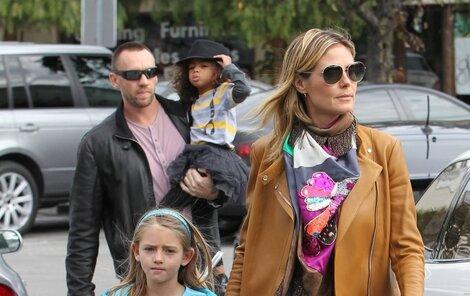 Heidi Klum a Martin Kirsten působí jako šťastný pár.