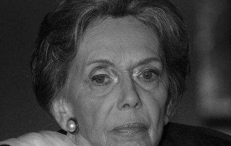 Jiřina Jirásková zemřela