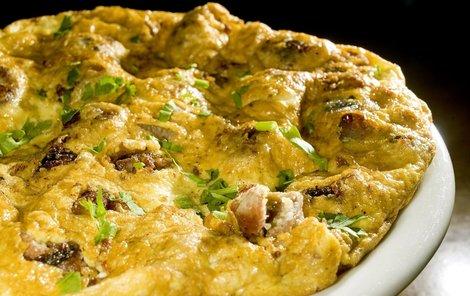 Omeleta - řecké variace