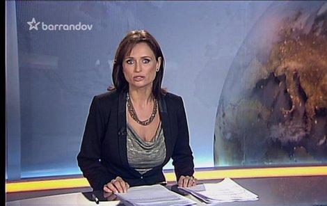 Do televize se vrátila po čtyřech letech, kontakt s kamerou jí chyběl.