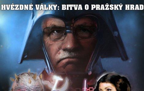 Hvězdné války o Pražský hrad