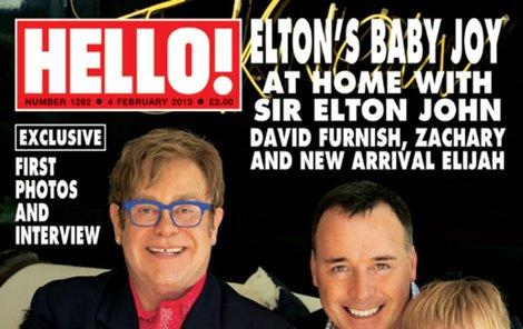 Elton John a jeho muži