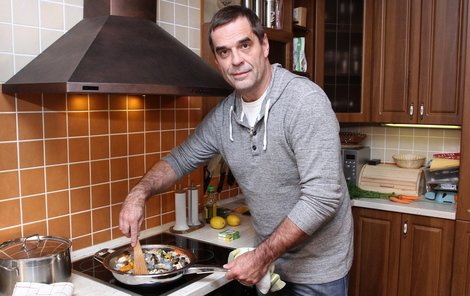 Miroslav Etzner se zaměřil na středomořskou a asijskou kuchyni.