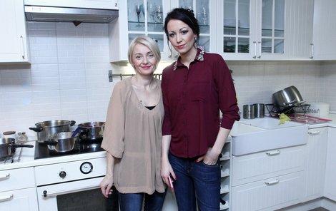 Žilková a Hanychová v kuchyni soupeřily