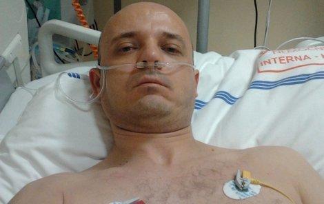 Viktor Pollák proležel na přístrojích v nemocnici i celé loňské Vánoce.