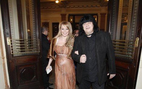 Iveta Bartošová a Richard Dušák