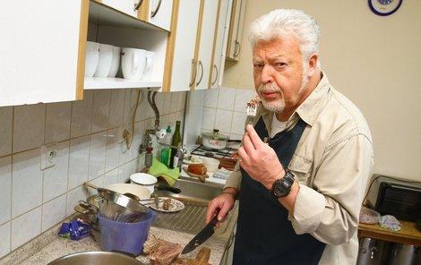 Jak si s vařením poradí Milan Drobný?