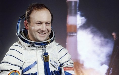 1978 - Vladimír Remek v době svého letu do vesmíru...