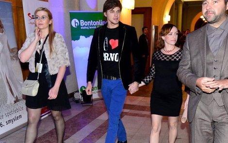Anděl 2012: Vojtěch Dyk s Tatianou Vilhelmovou