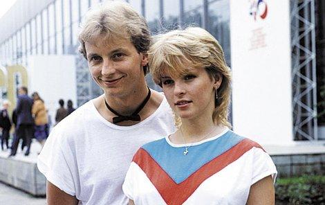 Petr Sepeši a Iveta Bartošová