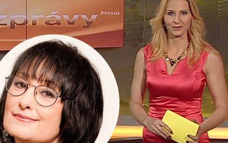 Ivanka Gottová je podle Evy Jurinové nejslabším článkem VIP zpráv.