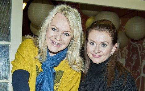 Lenka Hornová s Danou Morávkovou