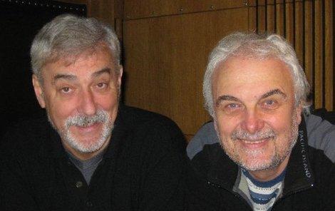 Jan Rosák s Vladimírem Čechem