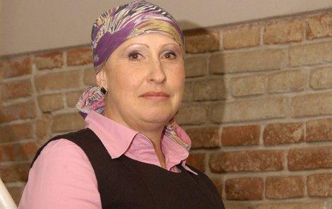 Paní Andrea onemocněla rakovinou měsíc před 40. narozeninami.