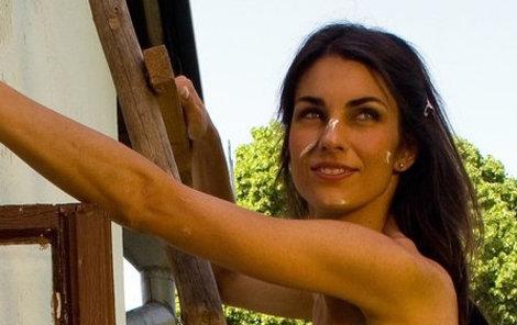 Sexy Marina s vtípkem