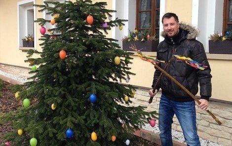 Velikonoční svátky u Vágnera připomínaly spíše ty vánoční.