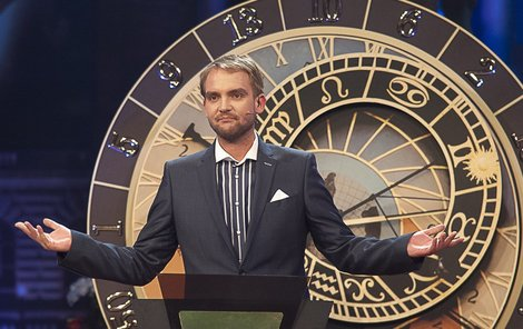 Moderátor soutěže Libor Bouček