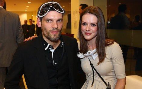 Andrea Kerestešová s přítelem Mikolášem