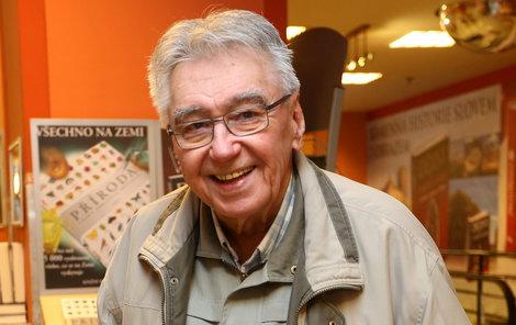 Josef Zíma oslavil 85 let..