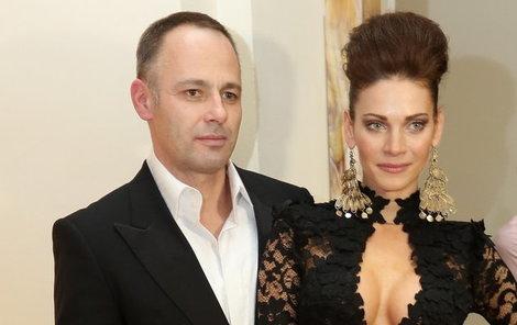 Andrea s manželem Danielem Volopichem
