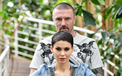 Vlaďka Erbová s Tomášem Řepkou.