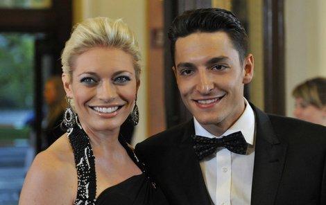 Lucie Borhyová a Michal Hrdlička