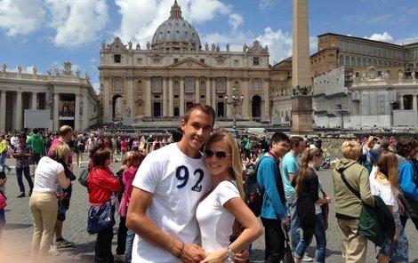 Ve Vatikánu se milencům líbilo nejvíce.