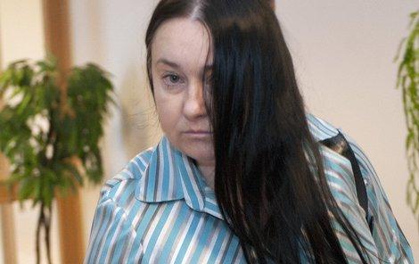 Barbora Polášková včera u soudu.