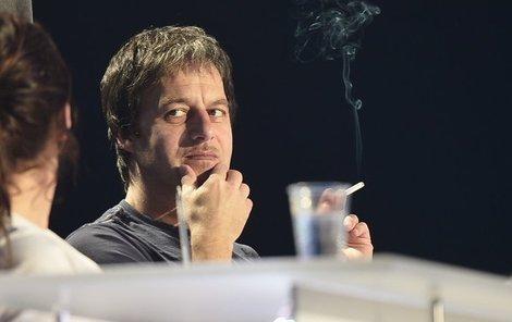 »Dlouhej« kouř Paľa Habery.