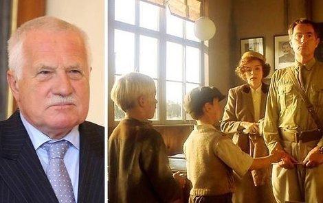 Václav Klaus si měl zahrát ve filmu Obecná škola