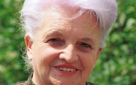 Marie Kubátová zemřela dva měsíce před 91. narozeninami.