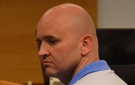 Maslák včera v soudní síni.