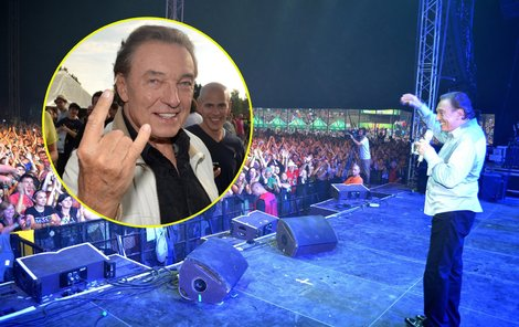 Karel festivalové publikum nadchnul