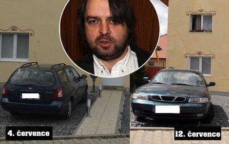 Kdo jezdil autem Macury, zatímco on byl s Džambulkou u moře?