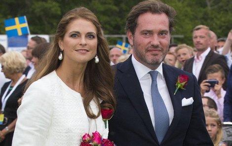 Princezna Madeleine a manžel Chris myslí na miminko.