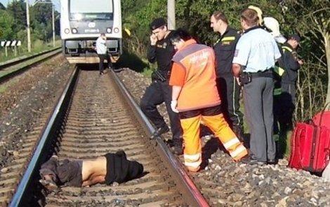 Napodruhé ale už na kolejích zemřel.