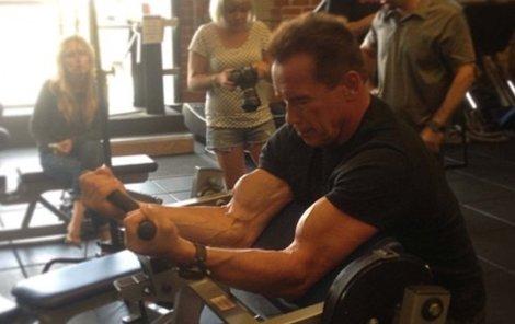 Arnold tvrdě dře i v 66 letech.