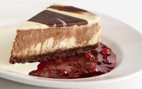 Nepečený cheesecake s čokoládou podle Evy Gálové