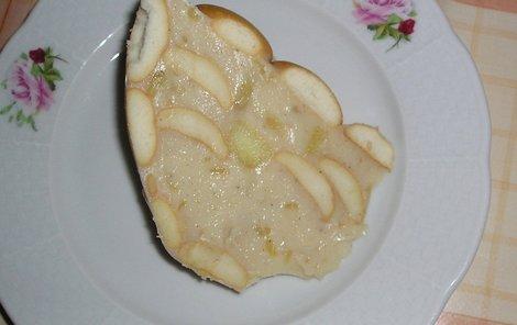 Jablečný dezert podle Veroniky Poláčkové