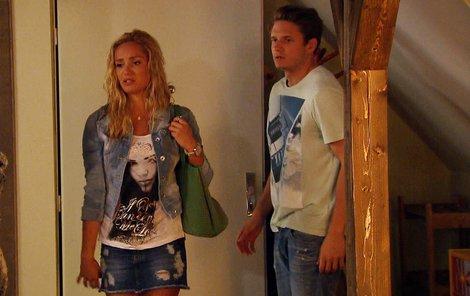 Taťána Kuchařová se v seriálu proměnila ve pěknou potvoru.