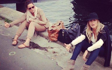 Krainová s Čvančarovou stopovaly v Kodani.