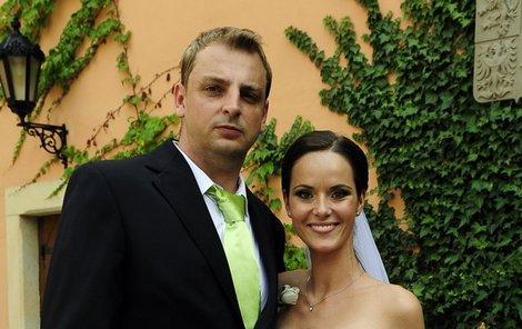 Romantická svatba Renáty Czadernové