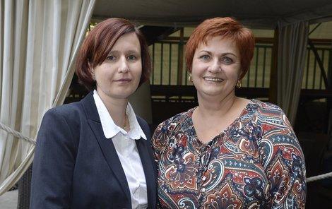 Margita se svou lékařkou Soňou Fraňkovou. Právě ona jí před nedávnem řekla, že má konečně vyhráno.
