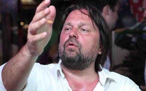 Jiří Pomeje je v dobrém rozmaru.
