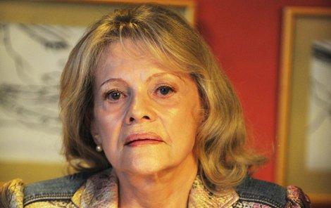 Eva Pilarová má zdravotní obtíže.