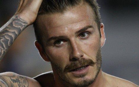 David Beckham už ví jak chutná negativní kritika...