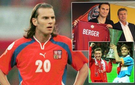 Čerstvě čtyřicetiletý Patrik Berger patří mezi nejúspěšnější české fotbalisty v historii