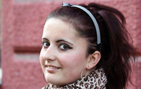Adéla Šimonová v Talentu zaujal nejn zpěvem, ale také smutným příběhem.