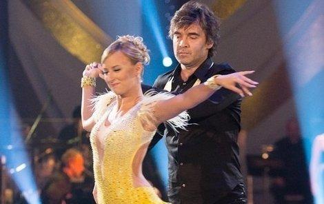 Pavel Řezníček s partnerkou se rozloučili se StarDance.